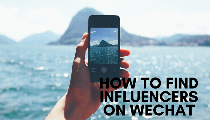 Influencers on WeChat